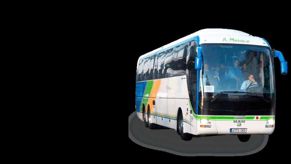 Modelo de Autobus de Autocares Moreno