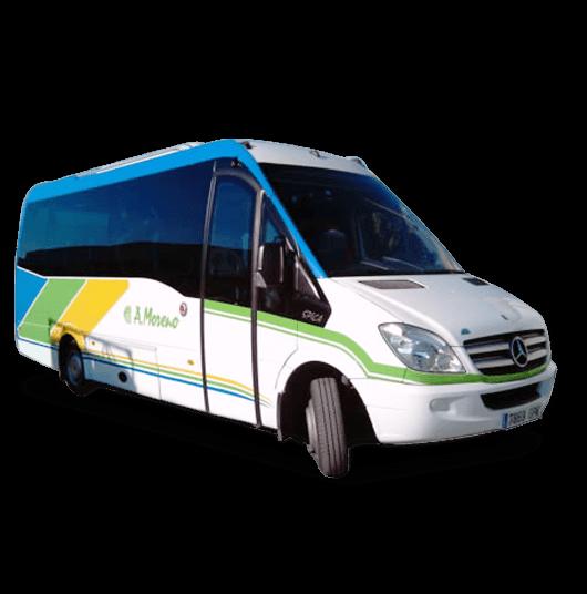 Autobus de Autocares Moreno